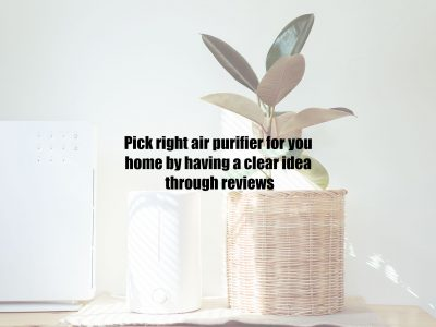 Pick right air purifier for you home by having a clear idea through reviews